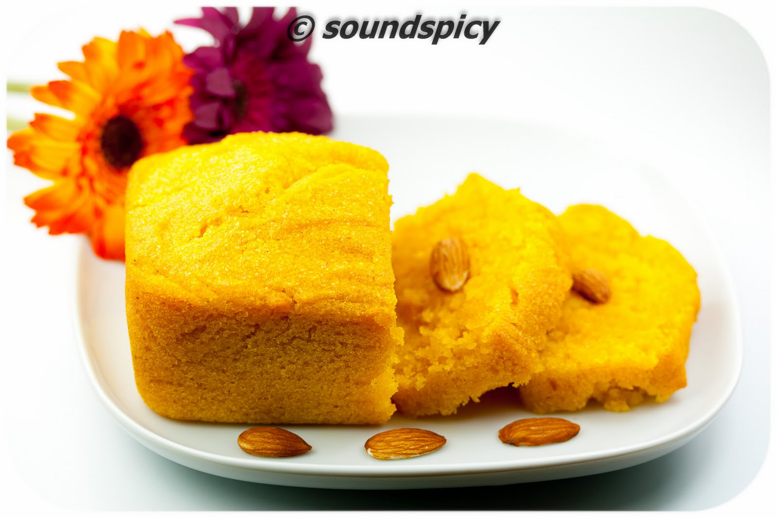 Images For Mango Cake : Sooji Mango Cake Sound spicy