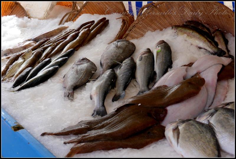 Fishmonger market Versailles Porchefontaine