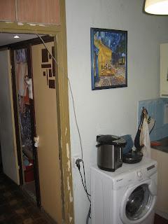 кухня до ремонта - вход