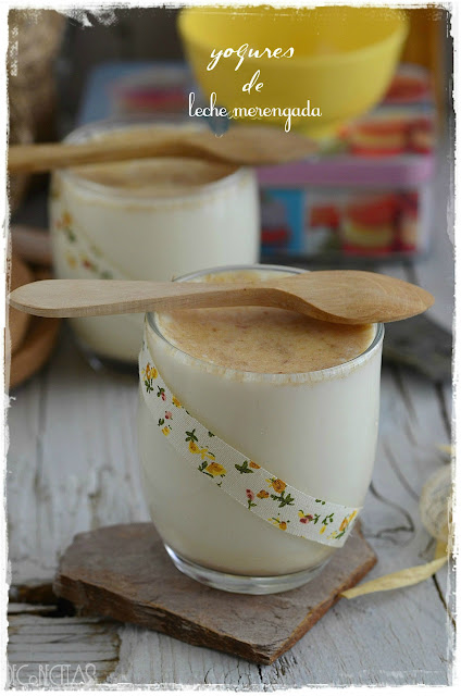 Yogurt de leche merengada