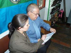 Socializacion del Producto: Cindy Arango, Carlos Restrepo