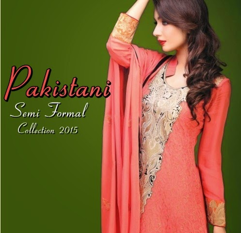 Pakistani Semi Formal Dresses 2015 2016 Pakistani Winter Dresses