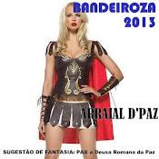 Sugestão de fantasia BANDEIROZA 2013