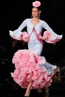 trajes flamenca 2014 Pilar Rubio