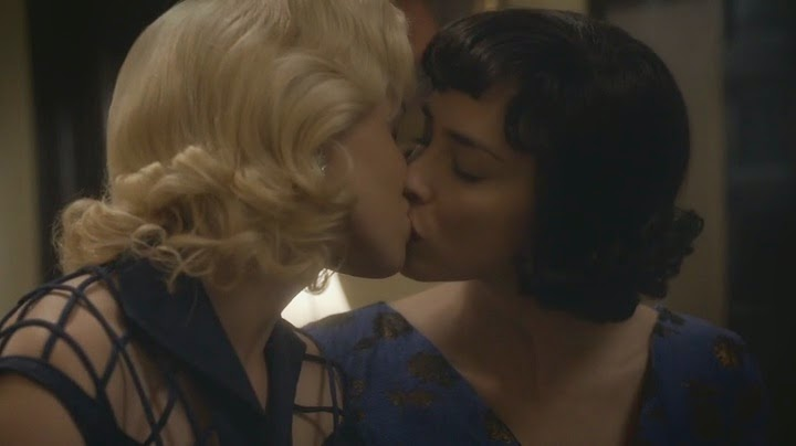 Sarah Silverman and Annaleigh Ashford Lesbian Kiss from Masters of Sex