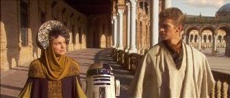 Plaza de España de Sevilla Star Wars Naboo