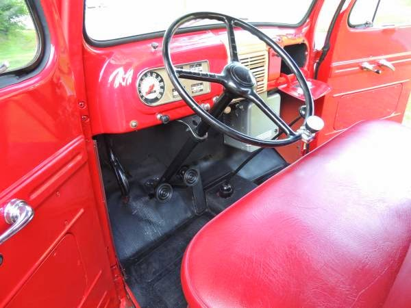 1950 Ford F1 Red on Red Show Quality | Auto Restorationice