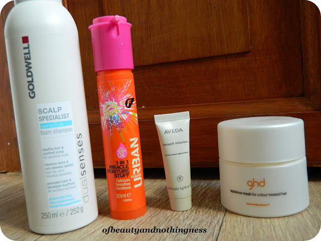 August Empties: Haircare