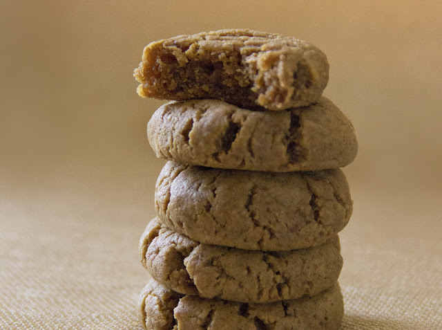 healthy vegan peanut butter cookies