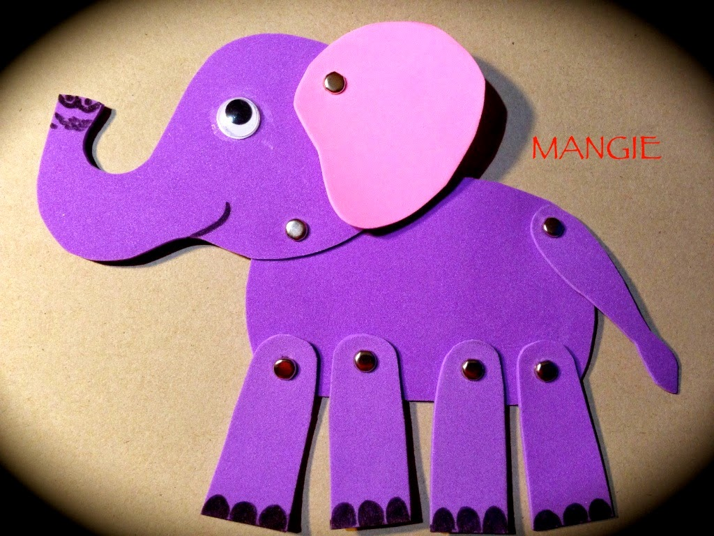 Marioneta elefanta