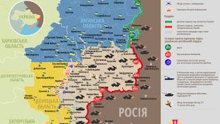 Ukrajnában ezen a területen folynak a harcok.