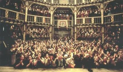 elizabethan theatre audience - photo #1
