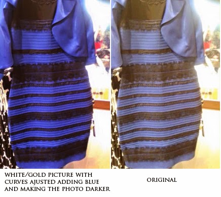 Is the dress white and gold original pictures