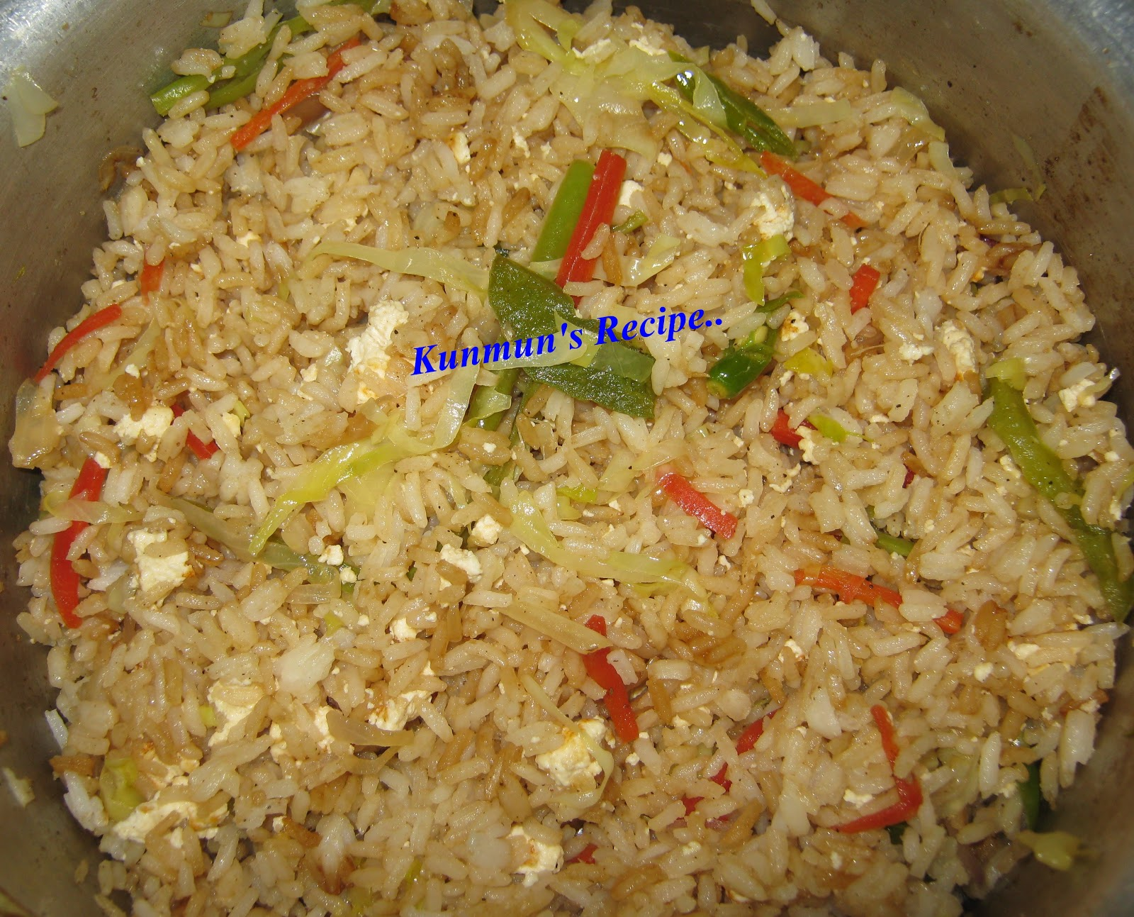 Kunmun's Delicious Kitchen: CHINESE FRIED RICE