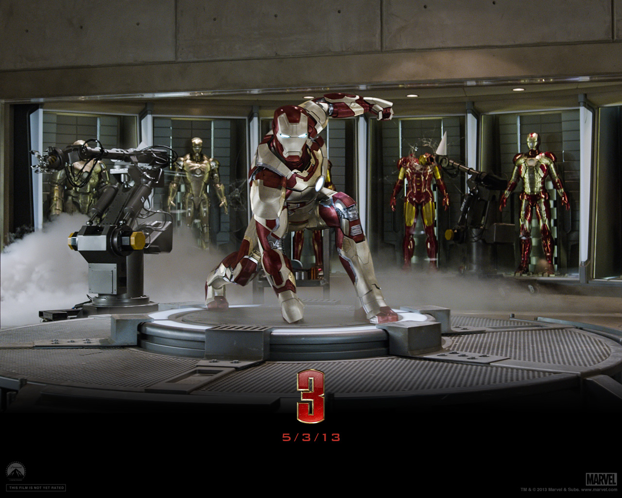 free download official iron man 3 movie wallpapers - everything