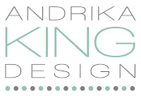 Andrika King Design Website