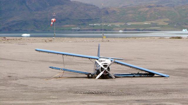 Aeropuertos mas peligrosos del mundo:Narsarsuaq, Groenlandia