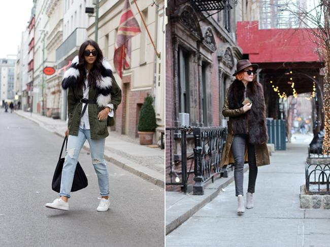 Fell Stola, Fellschal, Fake Fur Scarf,  Not your Standard, White Sneaker, New York Look, Blogger Bazaar