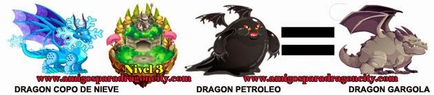 como obtener el dragon gargola en dragon city formula 4