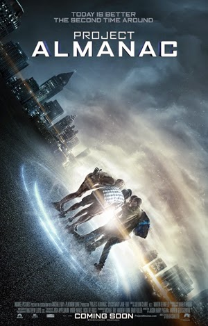 Project Almanac 2014 poster
