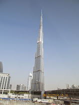 Burj Khalifa -- world's tallest buiding, in daylight (Dubai, United Arab Emirates)