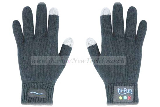 hi call gloves smartphone