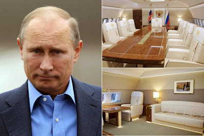 Russian President's New Luxury Jet Sparks Outrage 6364
