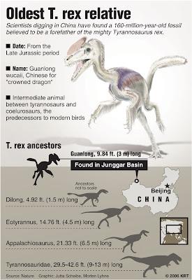 Tyrannosaurs Relative