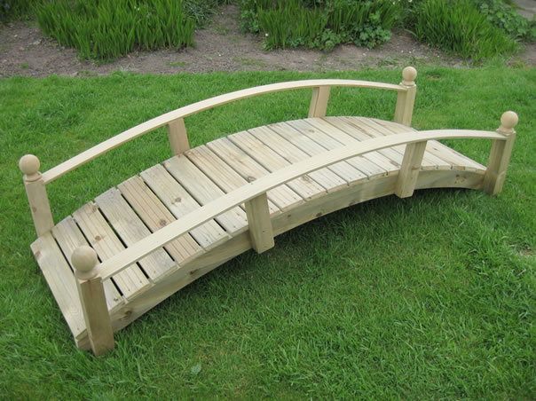 Bridges garden bridges uk for Fish pond bridges