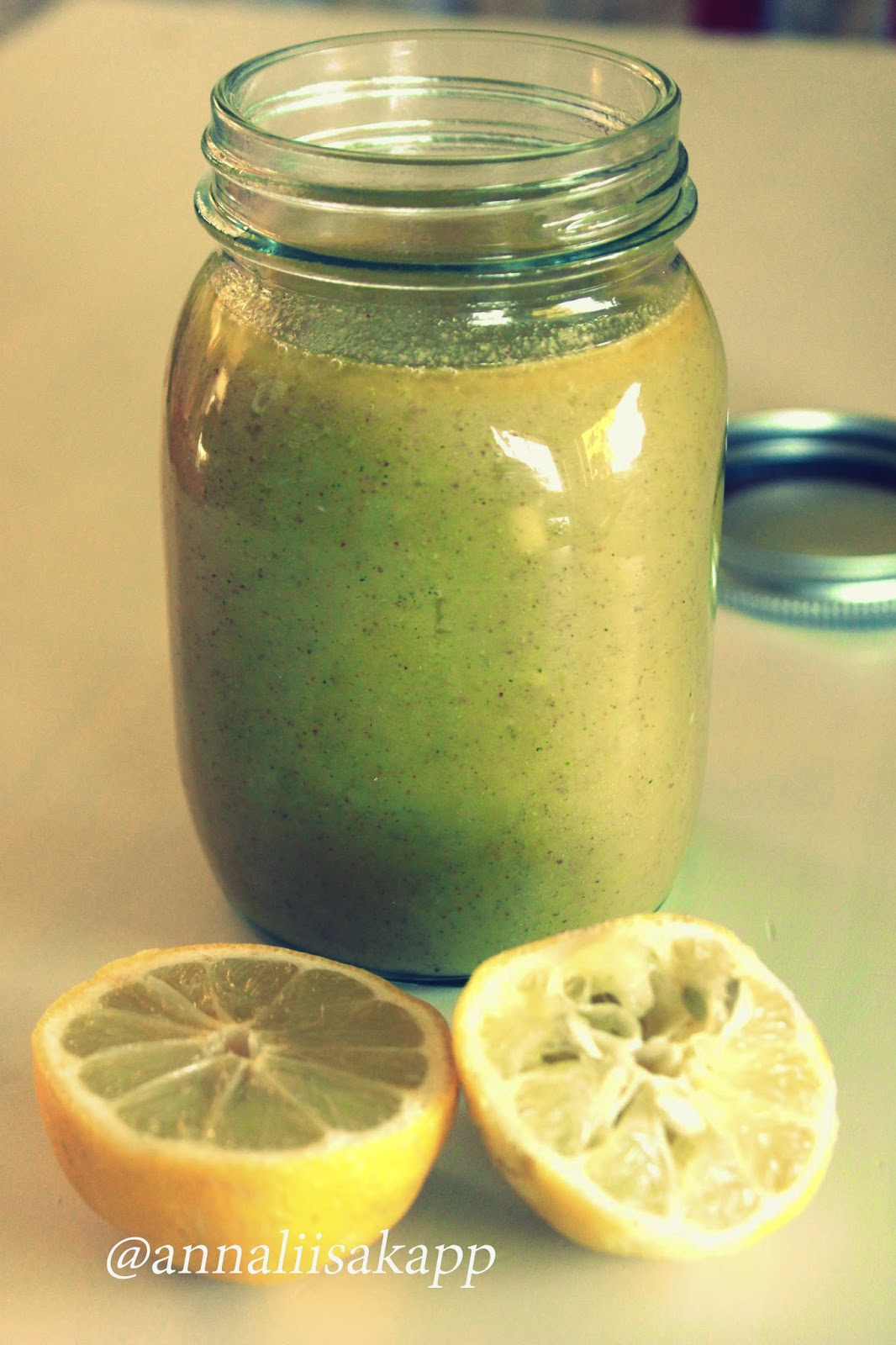 Big Batch Metabolism Boosting Salad Dressing with Lemon, Maple and Mustard