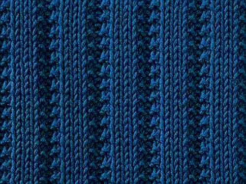 Knitting Stitches For Rib : Knitting Galore: Saturday Stitch: Raised Ribs