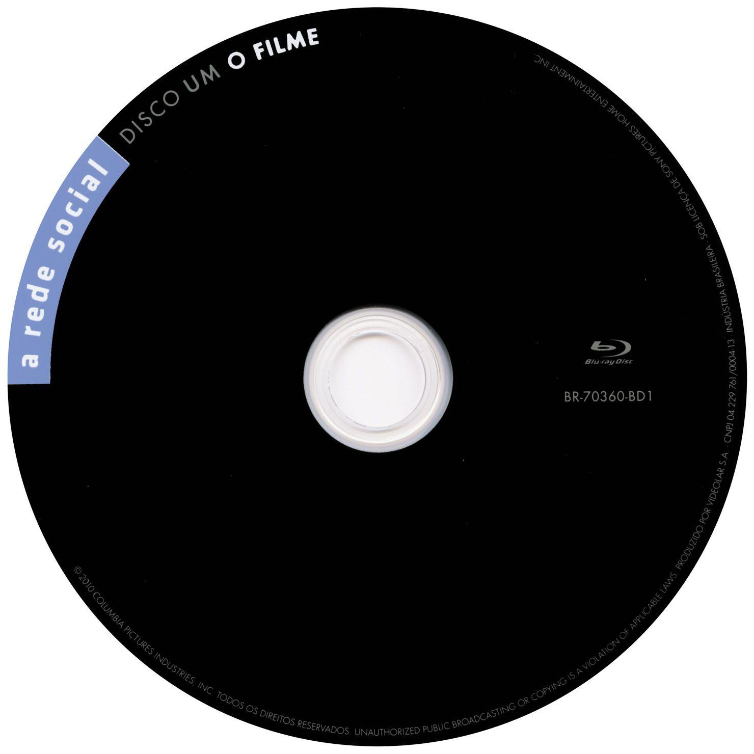 Label Bluray A Rede Social Disco Um O Filme