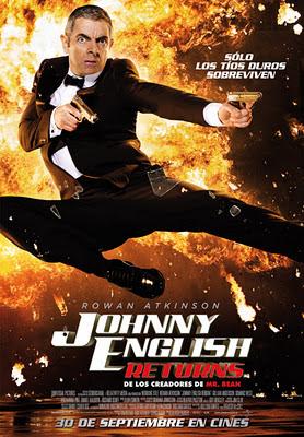 Película Johnny English 2: El Regreso
