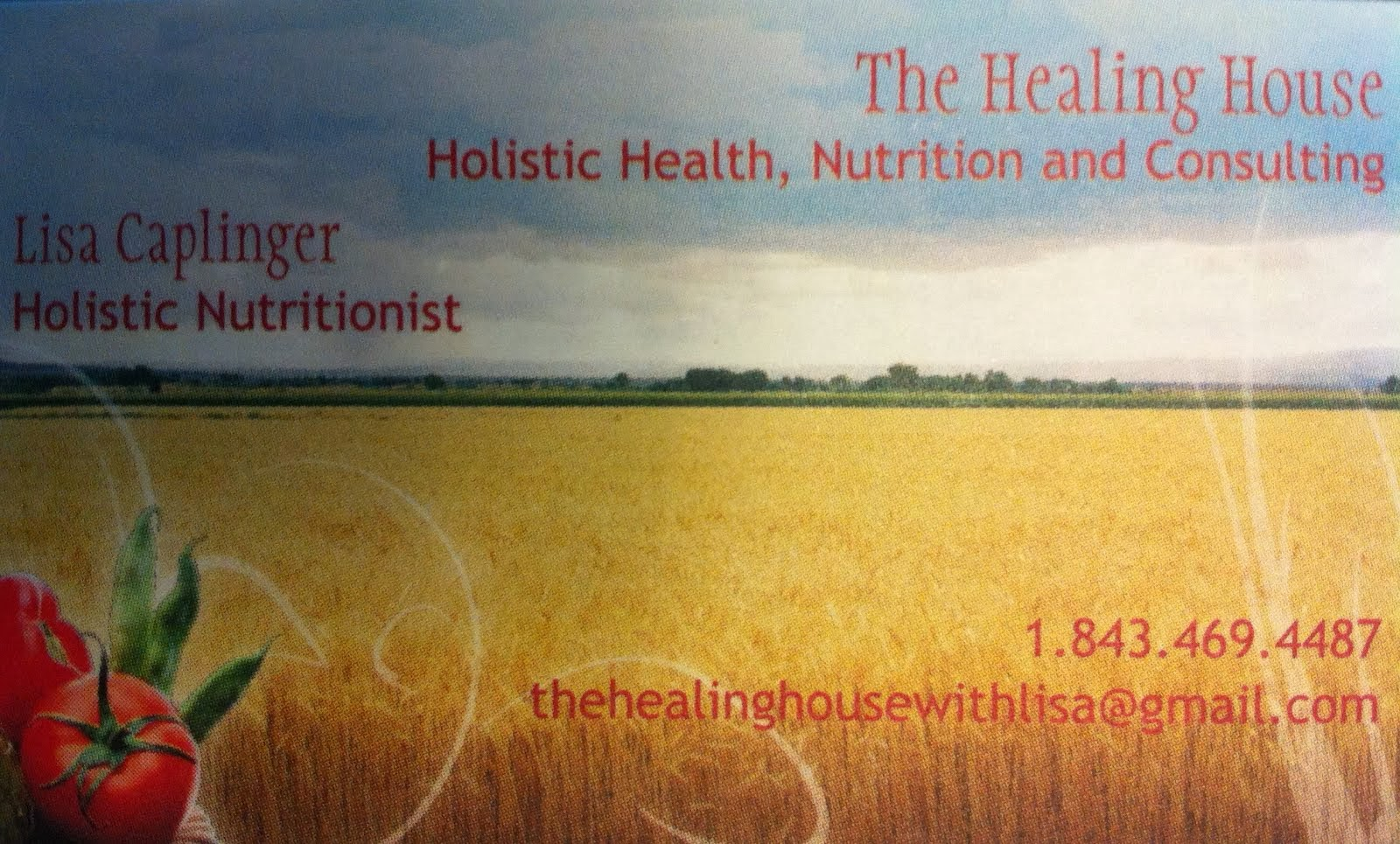 Are you in need of a holistic nutritionist?  Want to create new habits?  Click on my business card!
