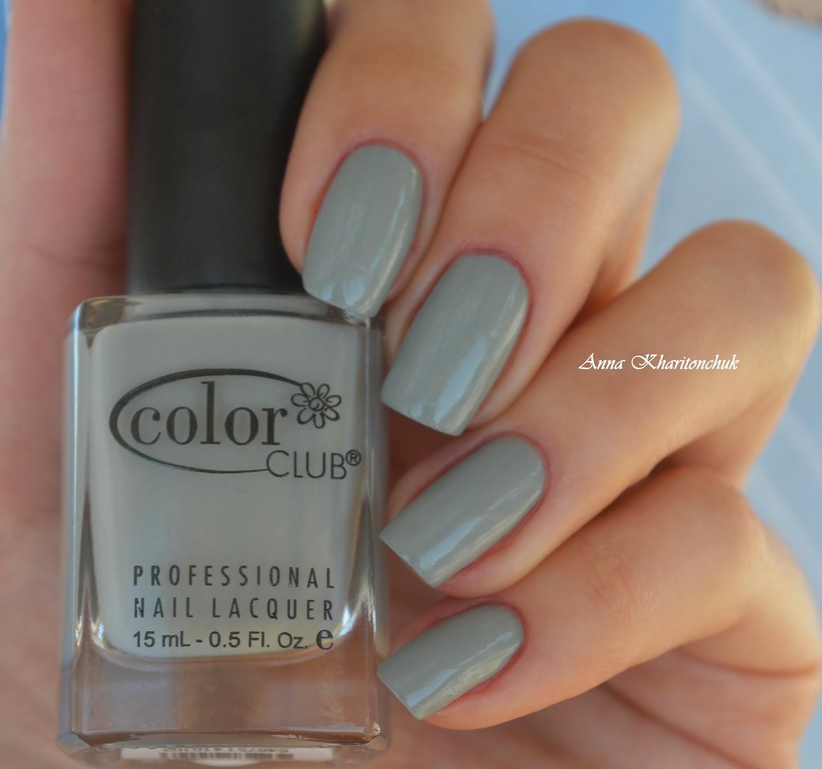 Color Club Lady Holiday 1010 + водный дизайн