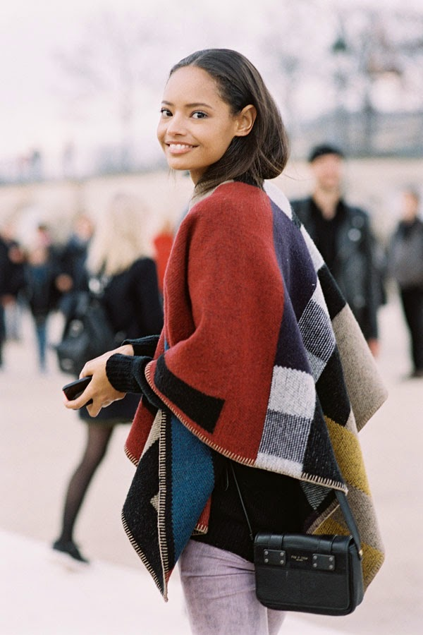 Vanessa Jackman Paris Fashion Week AW 2014Malaika