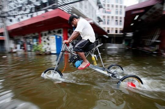 Ide Unik Untuk Menghadapi Banjir di Thailand
