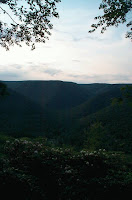 The Montour Run Valley