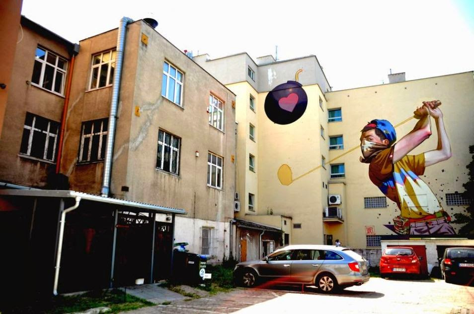 The Best Examples Of Street Art In 2012 And 2013 - By SAINER, Gdynia, Poland