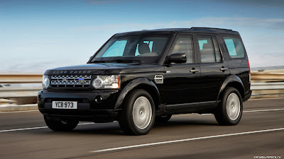 land rover car discovery armoured