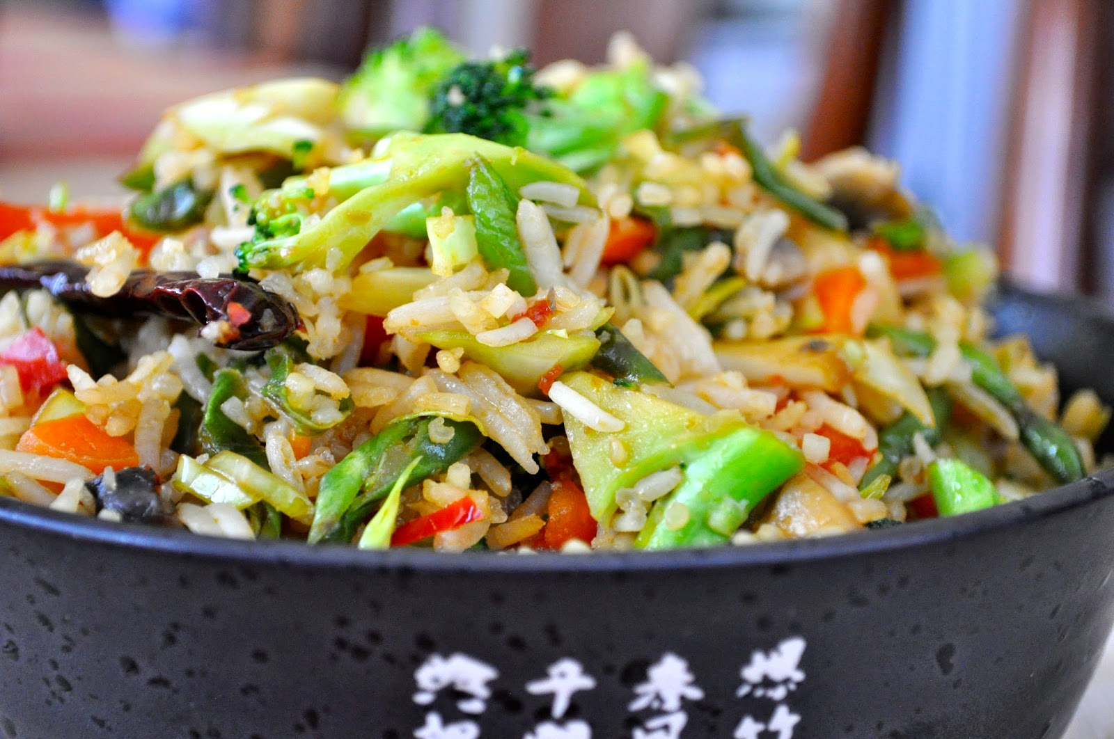 Cooking with meena spicy veggie fried rice one dish we always order for him when we do a take out is fried rice he loves fried rice so every once in a while i make fried rice at home ccuart Choice Image