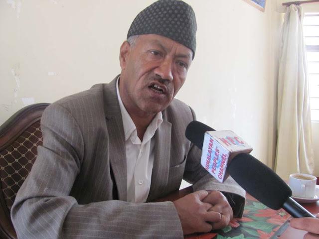 Kalimpong MLA H.B Chhetri