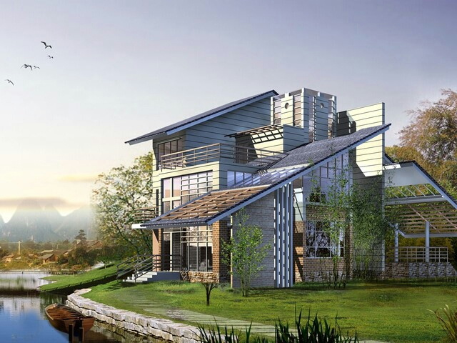 Modern Big Homes Architectural Designs Exterior Views