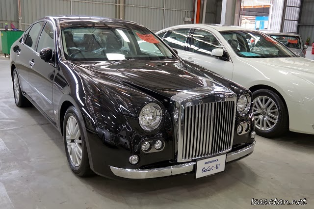 They even have rare Japanese makes, the Mitsuoka brand cars