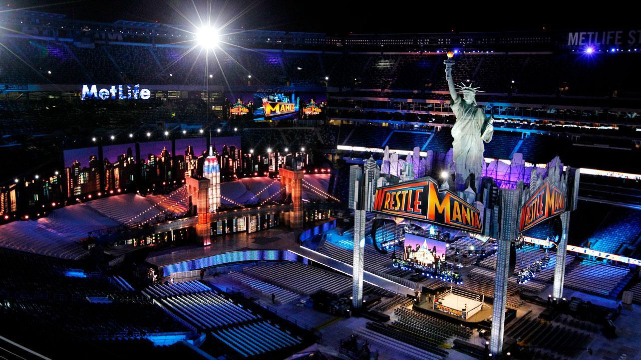 wwe wrestlemania 29 stage zdjęcia workrate wrestling