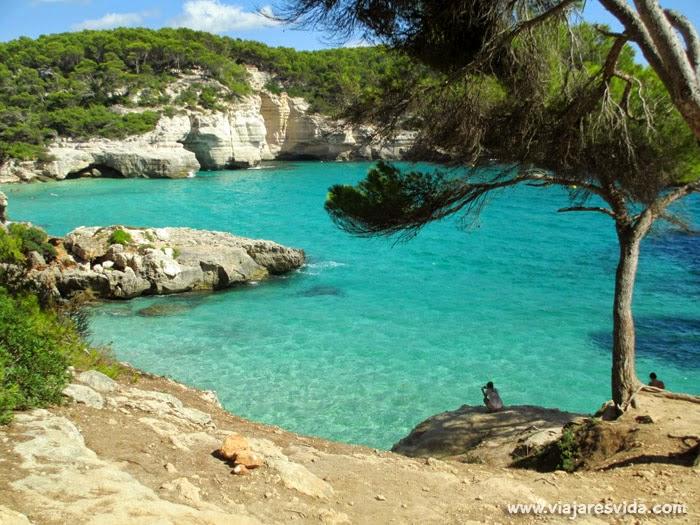 Playas de Menorca Cala Mitjana y Mitjaneta