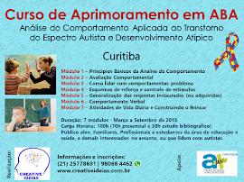 Curso de Aprimoramento em ABA - Edição Curitiba