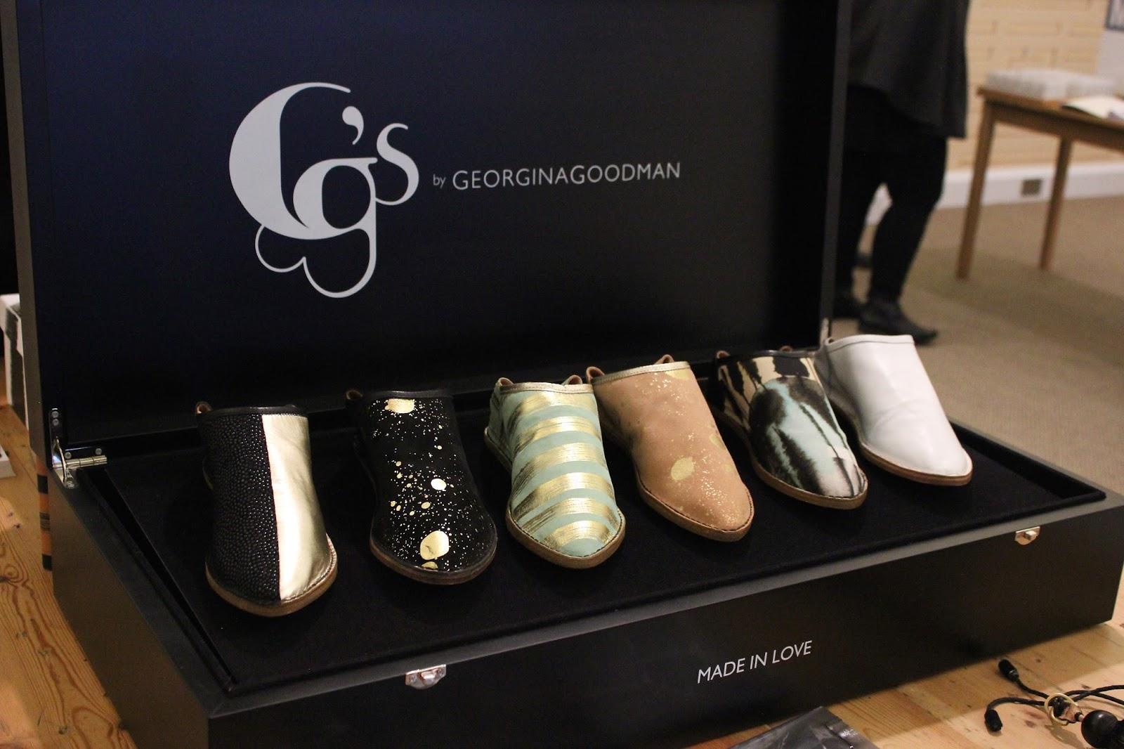 georgie minter-brown, actress, blogger, press day, ss16, spring, summer, 2016, fashion, modus publicity, gg's by georgina goodman, shoes