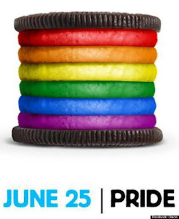 rainbow oreos gay pride 2012