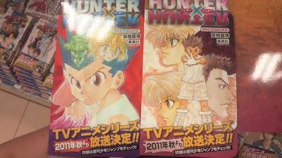 Hunterx Hunter Anime 2011 anuncio Manga